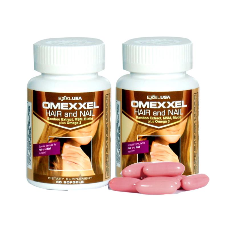 Viên uống ngăn rụng tóc và dưỡng móng Omexxel Hair/Nail