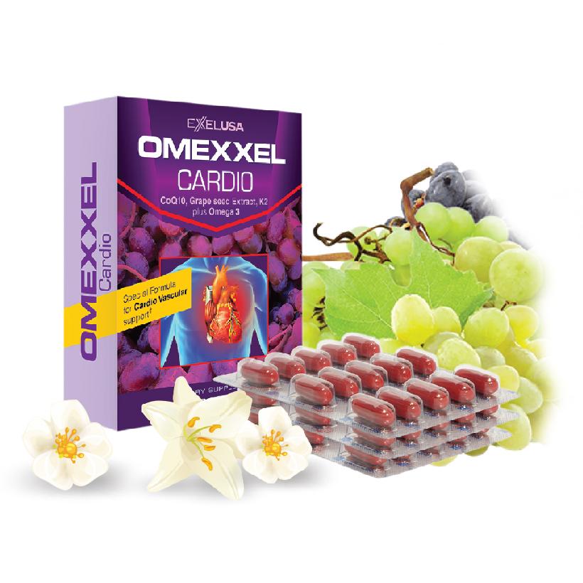 Viên uống hỗ trợ tim mạch Omexxel Cardio
