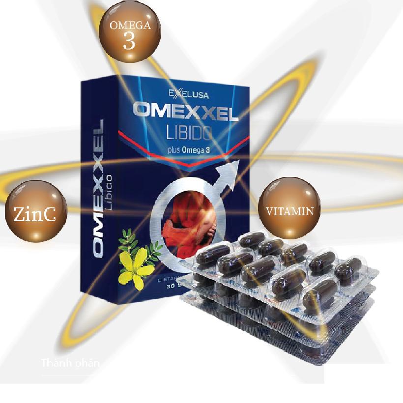 Viên uống tăng cường sinh lý nam giới Omexxel Libido