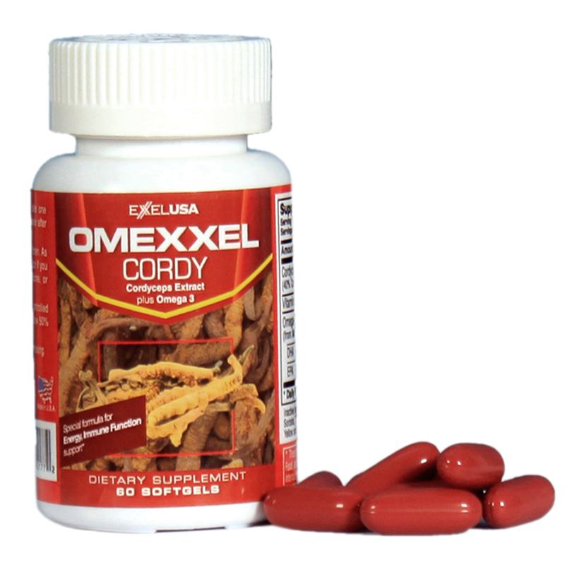 Viên uống đông trùng hạ thảo Omexxel Cordy
